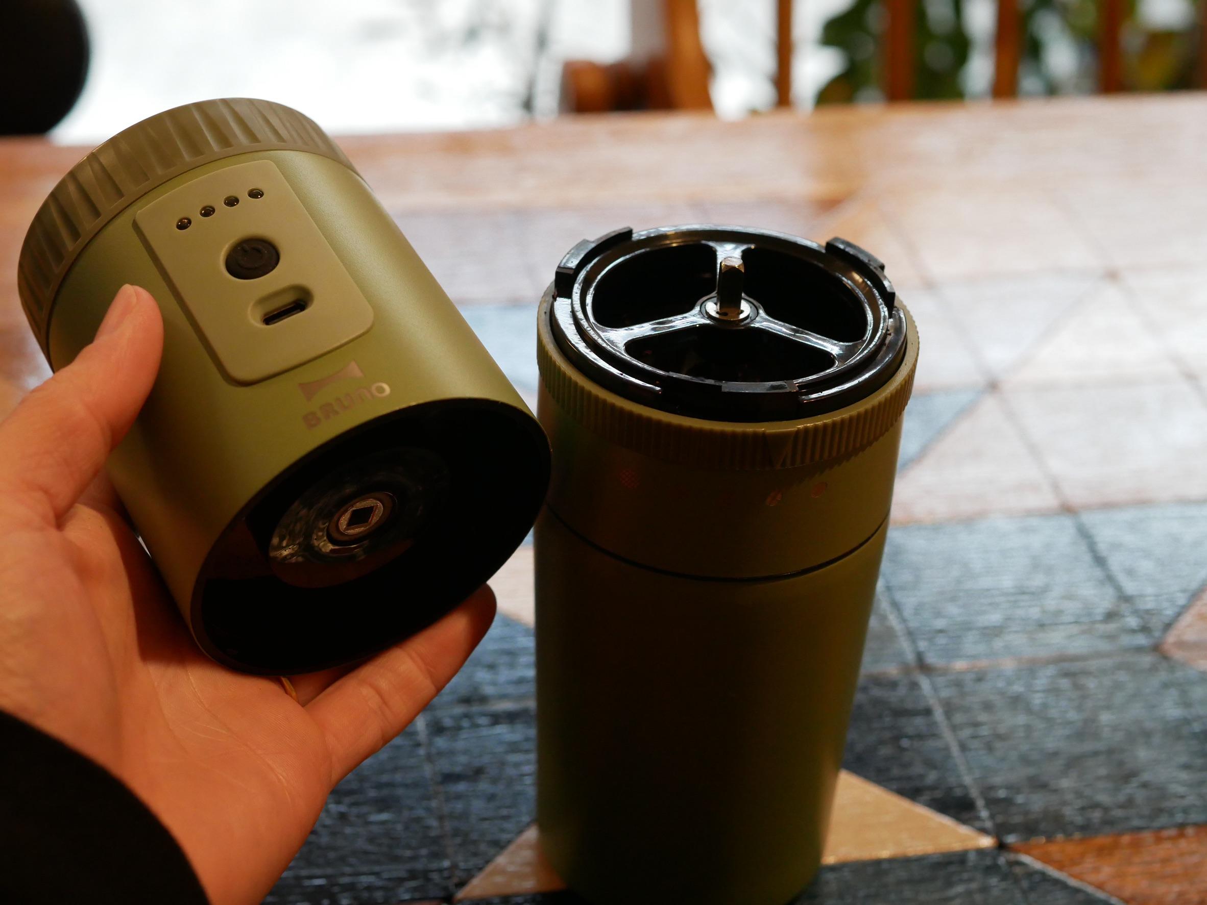 bruno 電動ミルコーヒーメーカー